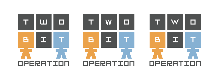 Two-Bit Logo Comparison